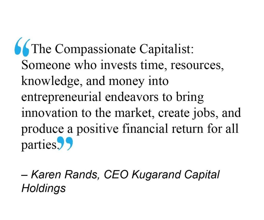 Compassionate Capitalist Defined Quote